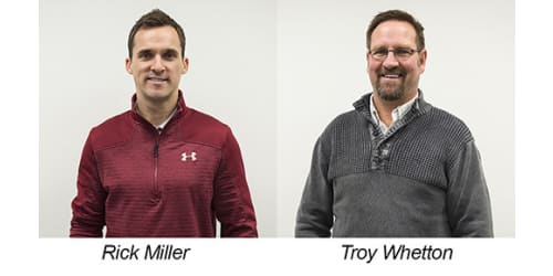 Lippert Components Promotes Miller and Whetton to Sales Leadership Roles