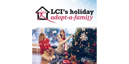 Team Members at LCI Collectively Raise Over $45,000 for the 2020 In-House Adopt-a-Family Program