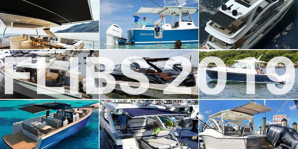 Fort Lauderdale Boat Show 2019 – SureShade Highlights