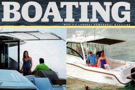 boating magazine sureshade