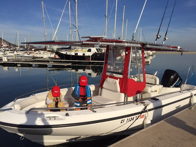 DIY Install of 2 Shades on Boston Whaler 210 Outrage T-Top