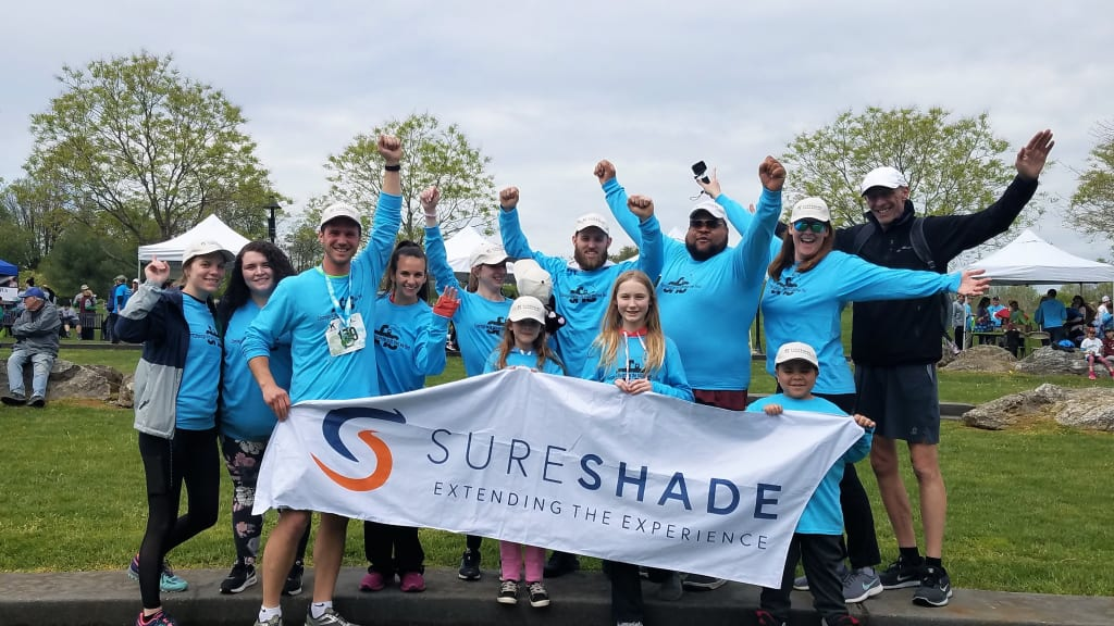 SureShade team safe from sun event