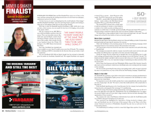 Boating Industry Movers & Shakers Finalist