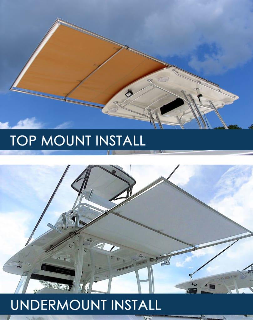 topmount undermount installs
