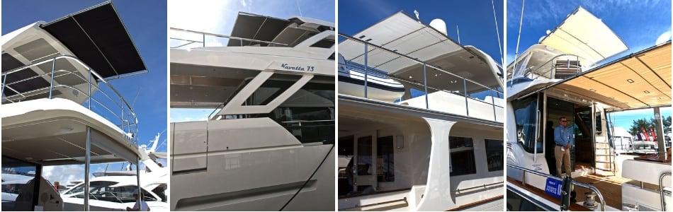 4 flybridge boats sureshade