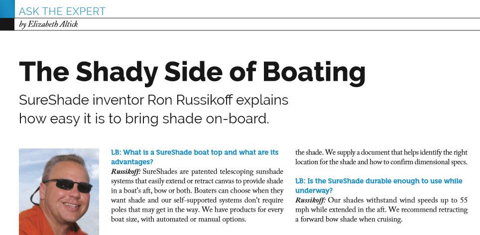 Lakeland Boating Ron Russikoff