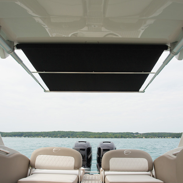 RTX Pull-Out Boat Shade