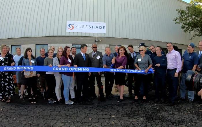 sureshade new facility