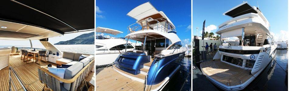 3 flybridge yachts