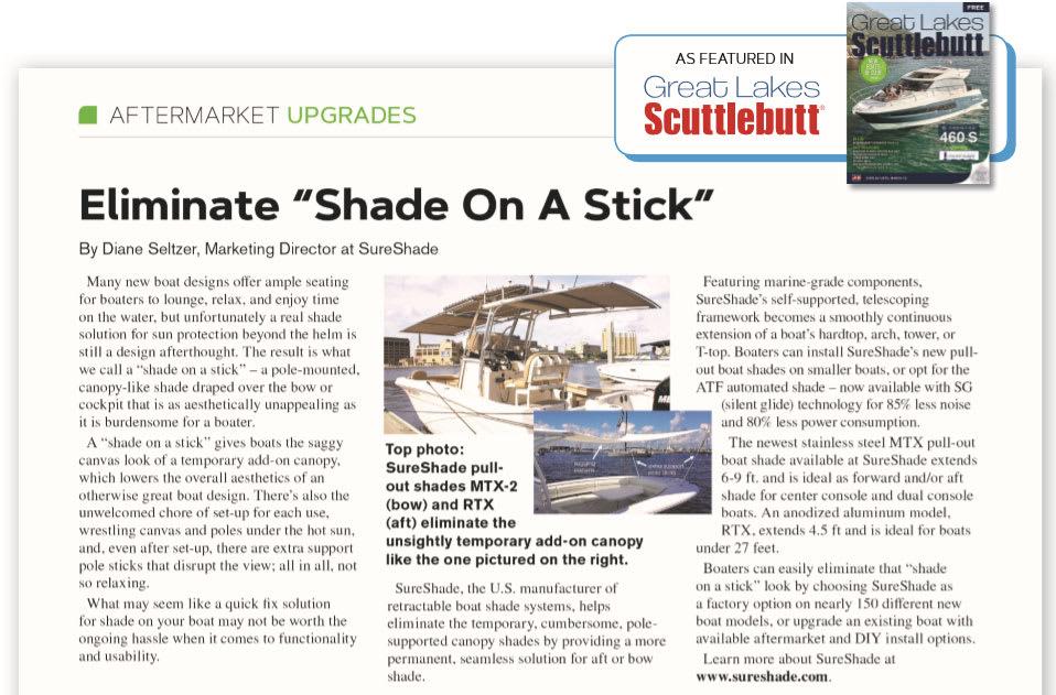 Eliminate Shade on stick