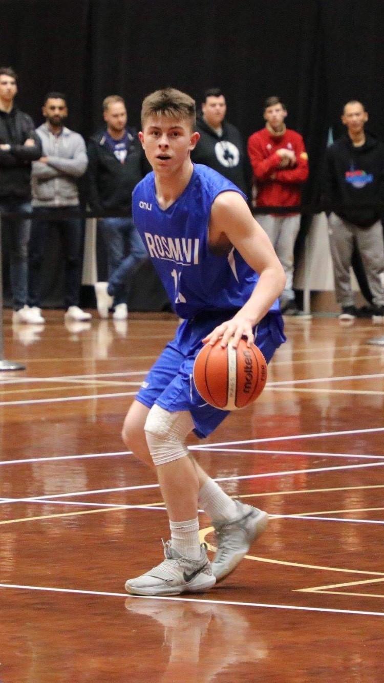 Kainoa on the court