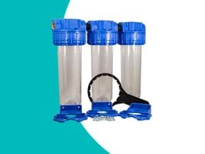 Porte filtre triple téthys complet
