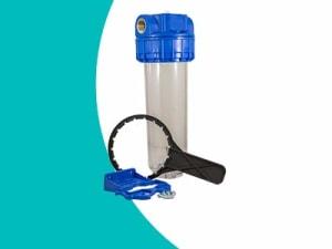 Filtres à eau complets simple vide