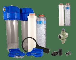 Filtres à eau complets