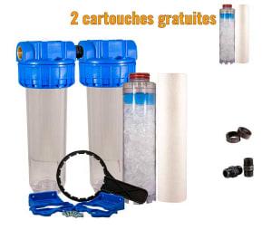 filtres à eau anti calcaire