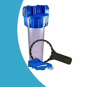 Filtre à eau standard simple complet