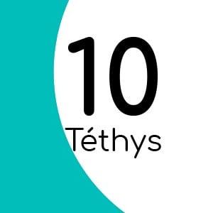 Téthys 10 avec insert laiton