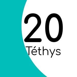 Téthys 20 avec insert laiton