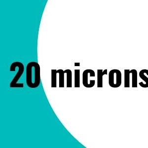 20 microns