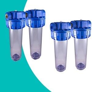 Filtre à eau double Téthys