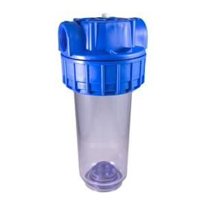 Porte filtre à eau – TÉTHYS 7 – sans insert laiton filetage 1 pouce - 26x34