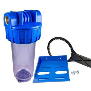 Porte filtre standard 7 pouces avec insert laiton 3/4 pouce