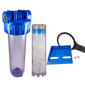 porte filtre 9 pouces 3/4 complet avec cartouche polyphosphate