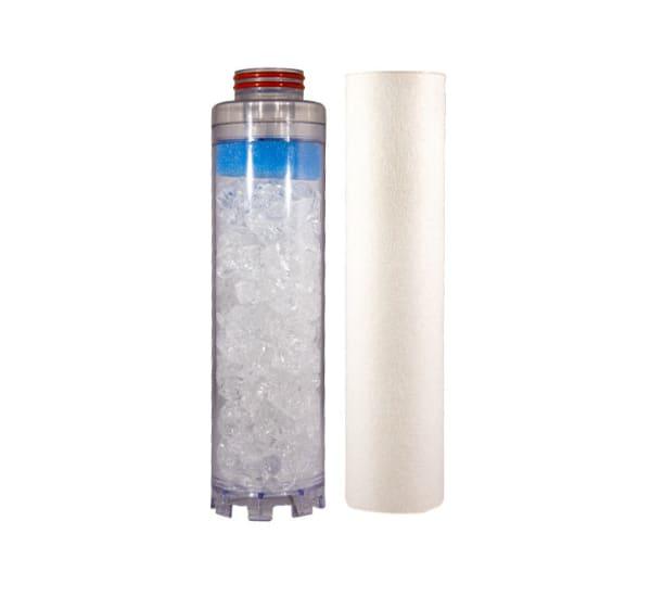 Kit de rechange filtre double Téthys anti calcaire
