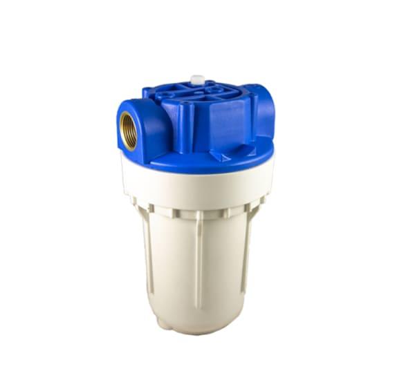 Porte filtre à eau 2 pièces – TÉTHYS 5 – avec insert laiton filetage 3/4 pouce – 20×27