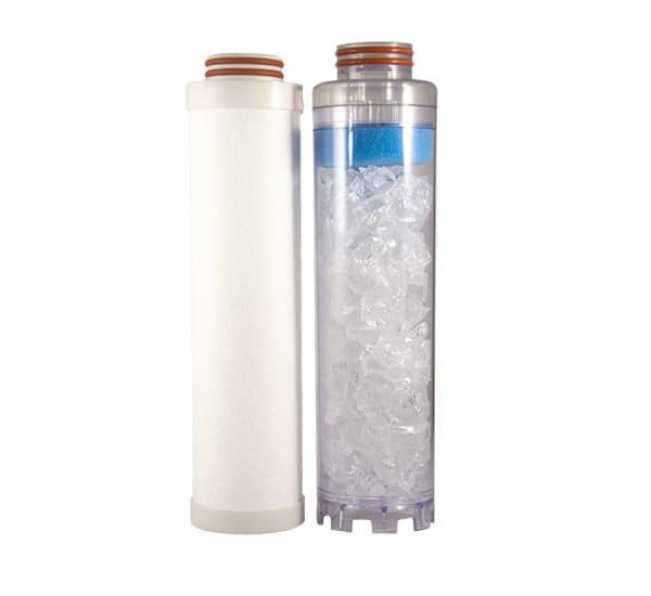 Kit de rechange filtre double Téthys anti calcaire GTX