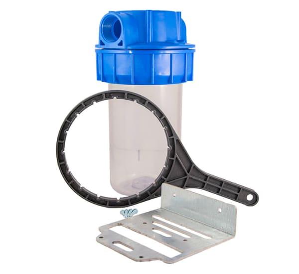 Porte filtre Big Blue 10 pouces complet 1 pouce 1/2