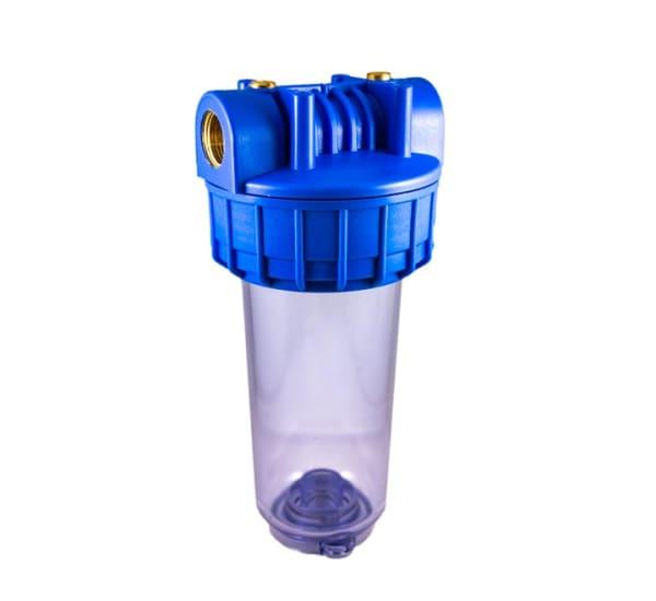Porte filtre standard 2 évents 7 pouces avec insert laiton - filetage 3/4 pouce - 20x27