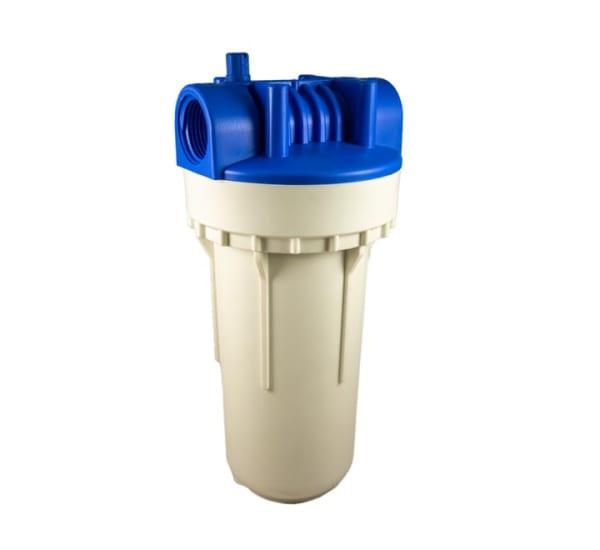 Porte filtre standard 2 pièces 7 pouces sans insert laiton - filetage 1 pouce- 26x34