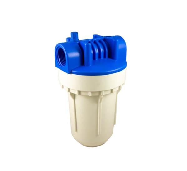 Porte filtre standard 2 pièces 5 pouces sans insert laiton - filetage 1 pouce - 26x34
