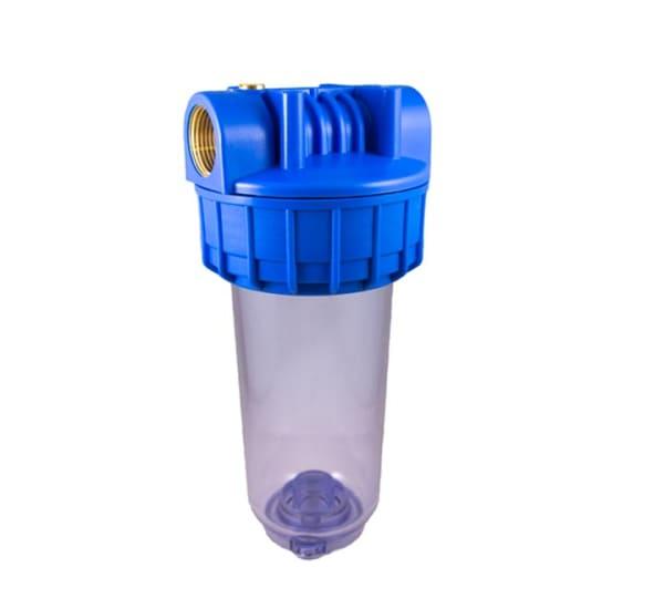 Porte filtre standard 7 pouces avec insert laiton - filetage 1 pouce - 26x34