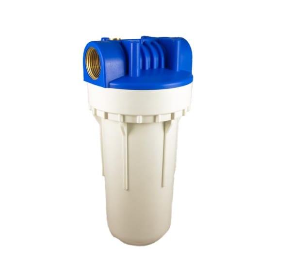 Porte filtre standard 2 pièces 7 pouces avec insert laiton - filetage 1 pouce- 26x34