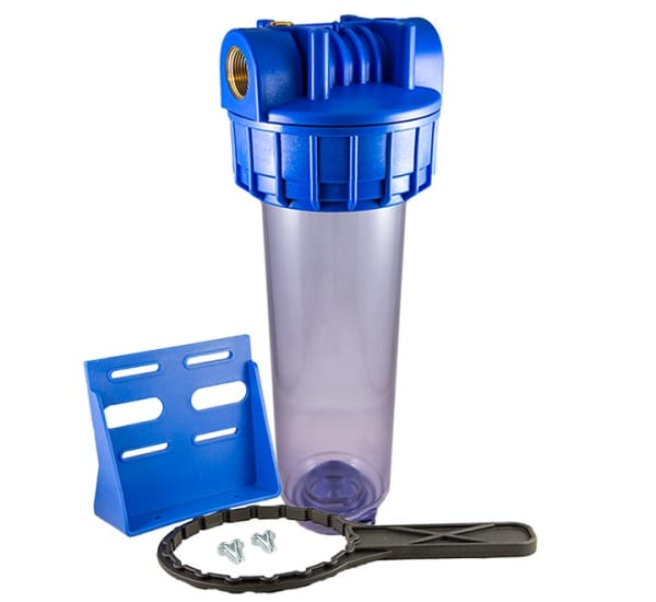 Porte filtre standard complet avec insert laiton filetage 3/4 pouce - 20x27