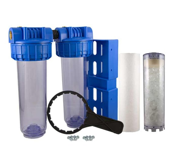 Station et filtre Anti calcaire 9 pouces 3/4