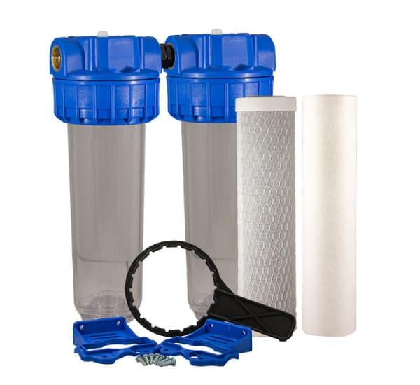 Filtre à eau Téthys double anti goûts et odeurs