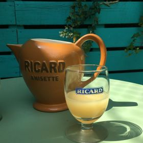 Lot de 6 verres à Ricard