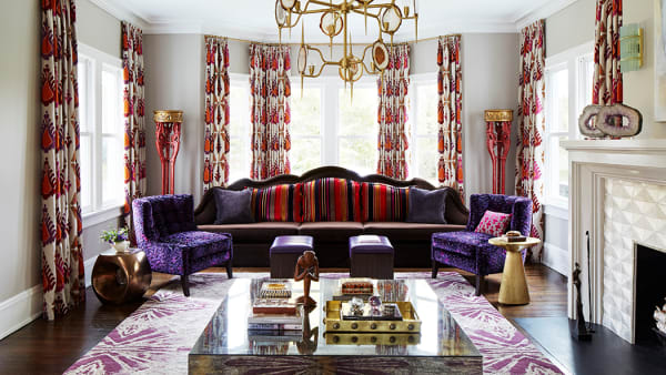 Using color to celebrate character at home