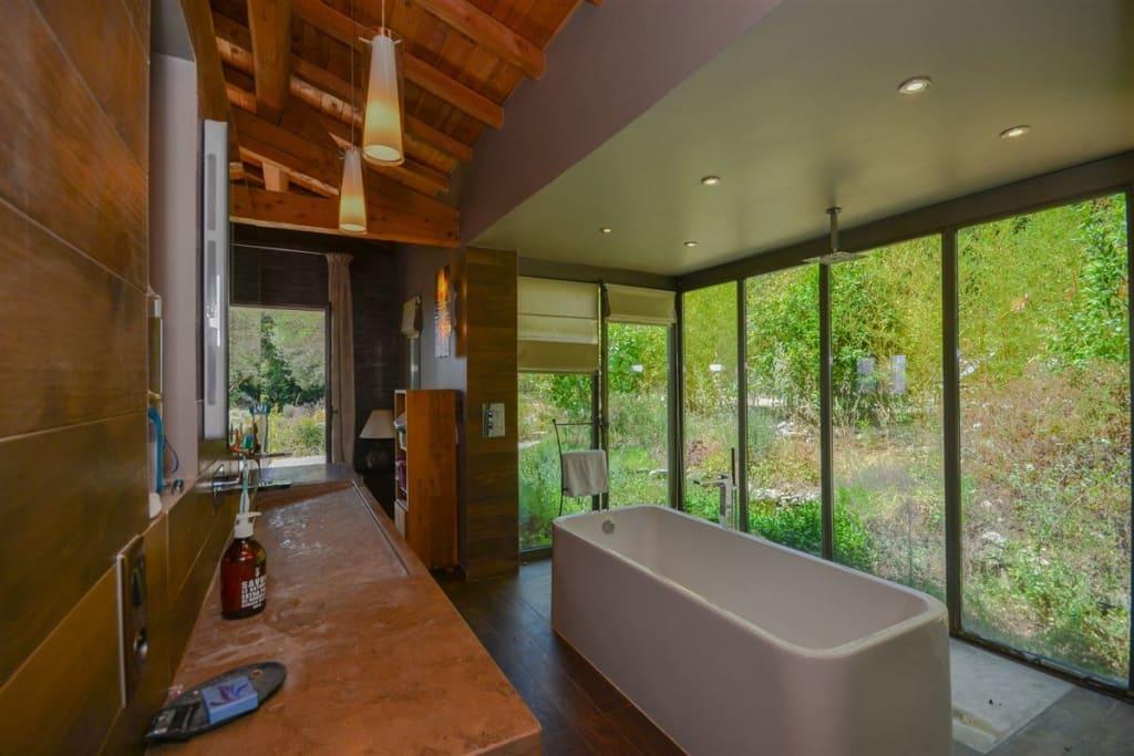 spa like bathroom