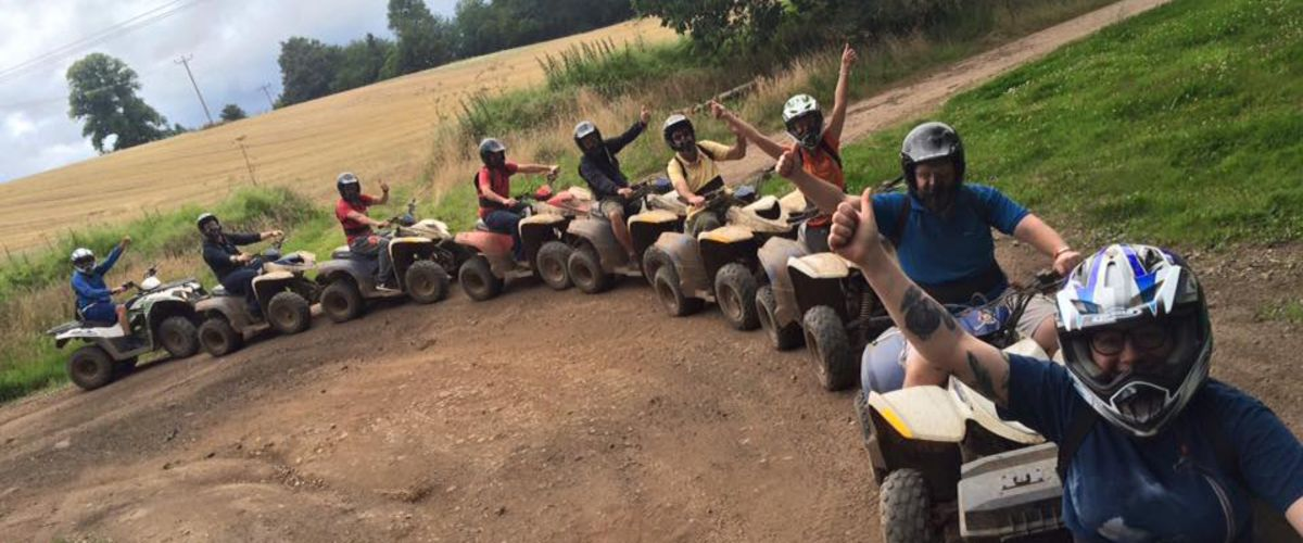 Quad biking and Segway racing - our first annual team building day Feature Image