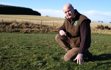 Maximising performance from grass at North Bellshill Farm