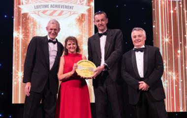 Caroline Drummond awarded the 2019 Farmers Weekly Lifetime Achievement Award