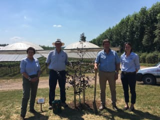 Leading fruit business recognised for environmental standards