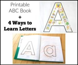 picture regarding Abc Book Printable known as Printable ABC Reserve: Preschool Mastering Routines by way of Jaimi