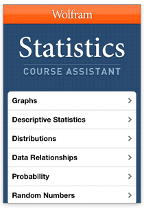 Statistics Course Assistant by Wolfram Group   Learn