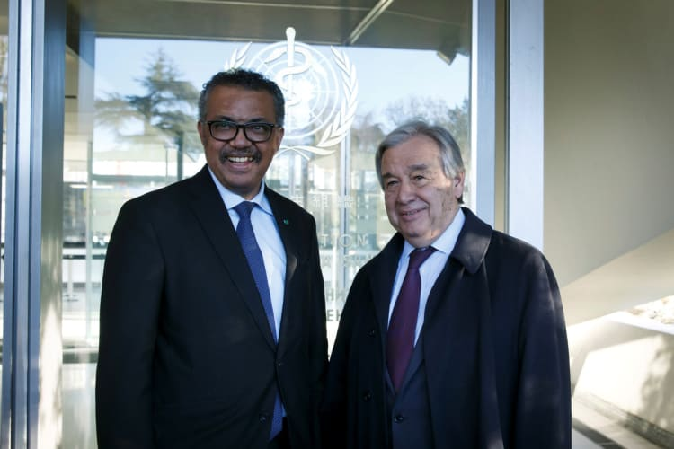 WHO must be supported at COVID 19 pandemic: UN chief