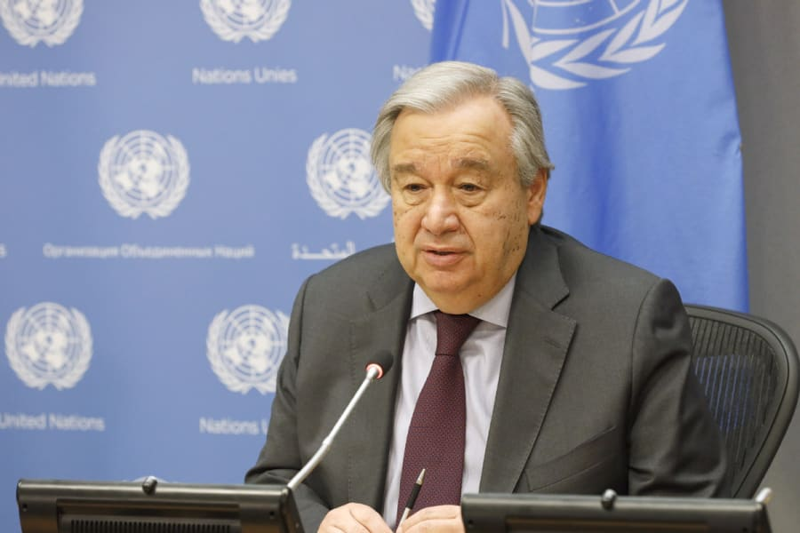 UN chief calls for global solidarity in fight against COVID-19